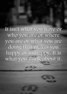 Dale Carnegie quote on happiness